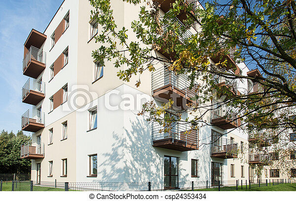 Housing development - csp24353434