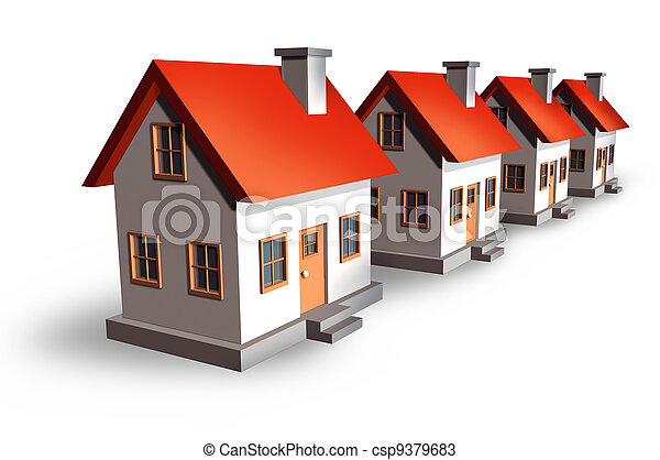 Housing Development - csp9379683