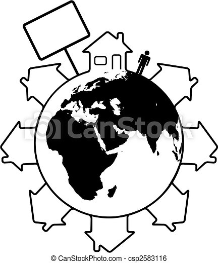 homes around the world clipart. housing earth people homes around the world east csp2583116 clipart e