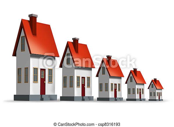 Housing Market Decline - csp8316193