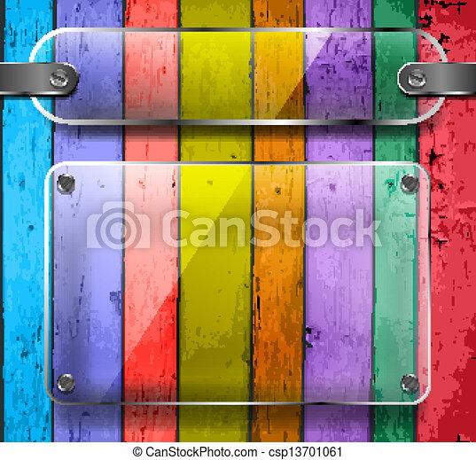 houten, doorzichtigheid, platen, plank - csp13701061
