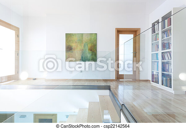 Houten glas interieur moderne trap houten moderne glas
