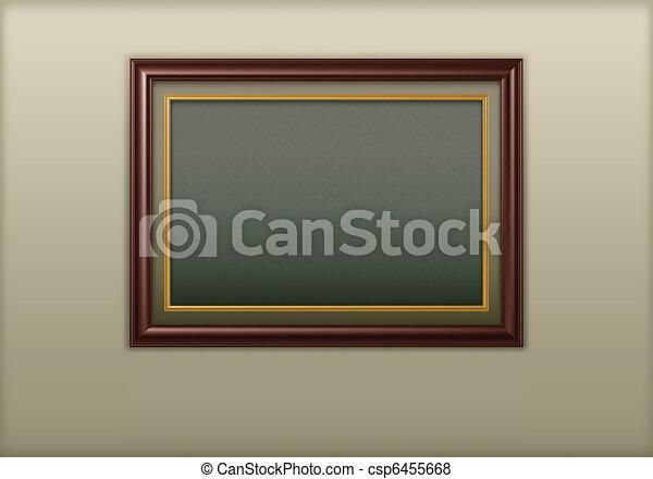 houten kader - csp6455668