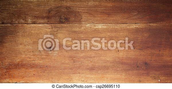 houten raad, achtergrond - csp26695110