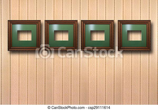 Plank Voor Lijstjes.Houten Verguld Lijstjes Achtergrond Afbeeldingen