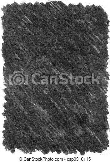 houtskool, textuur - csp0310115