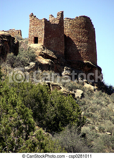 Hovenweep Towers - csp0281011