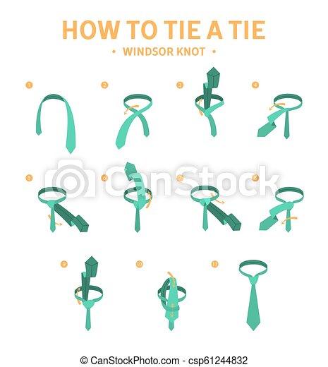 Wondrous How To Tie A Windsor Knot Tie Instruction Guide For Making Necktie Wiring 101 Ziduromitwellnesstrialsorg