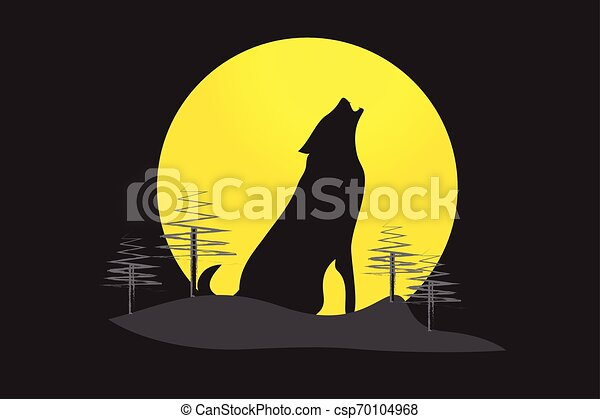 Howling Wolf - csp70104968