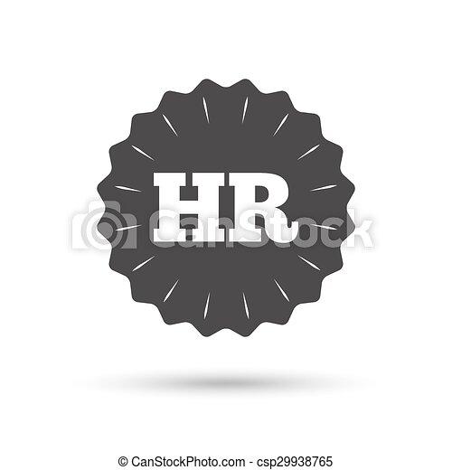 Hr, symbol, zeichen, menschliche , icon., ressourcen.... Clipart ...