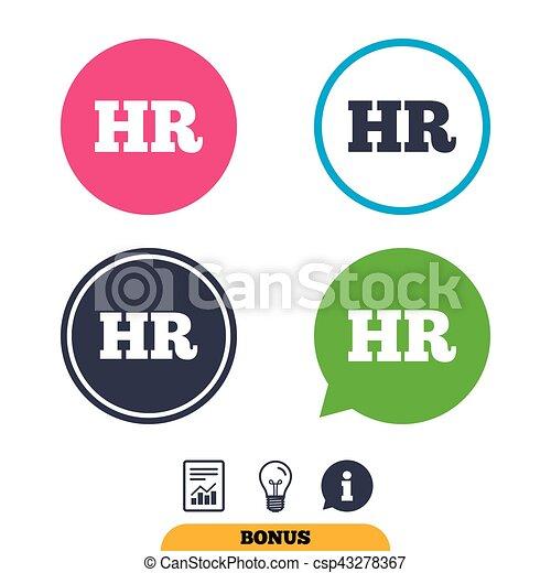 Hr, symbol., zeichen, menschliche , icon., ressourcen. Informationen ...