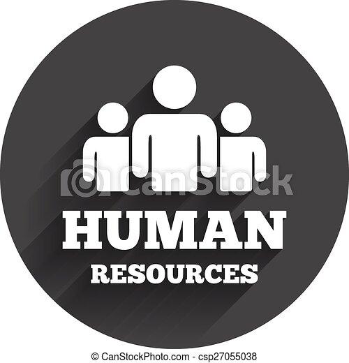 Hr, symbol, zeichen, menschliche , icon., ressourcen. Website ...
