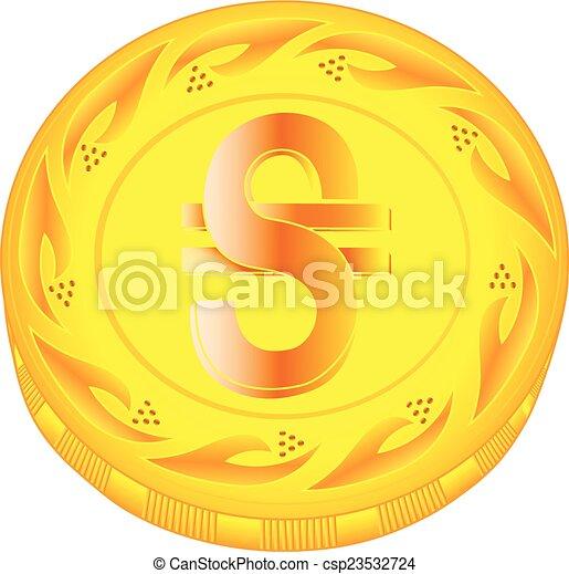Hryvnia coin - csp23532724