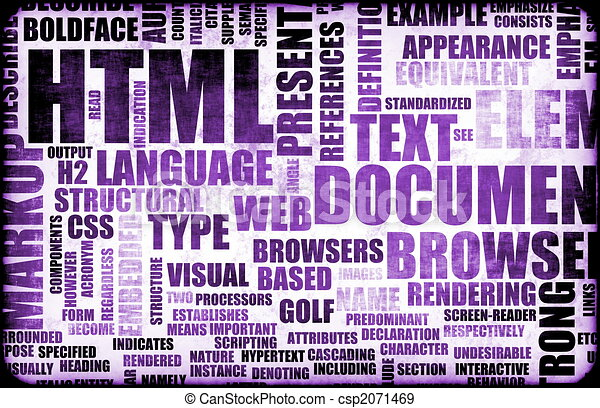 Line Drawing In Html : Purple html script code as a background stock illustration search