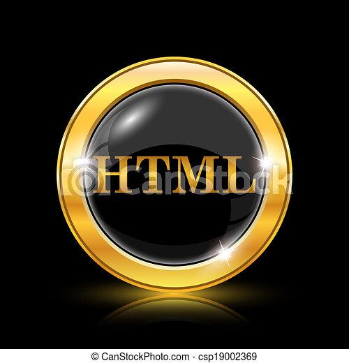 HTML icon - csp19002369