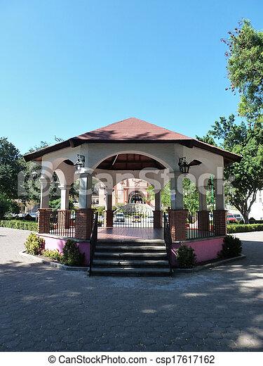 Huatulco bandstand 2 - csp17617162