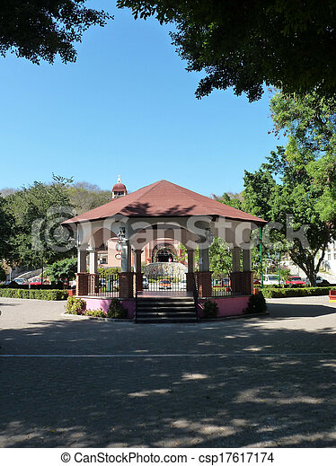 Huatulco bandstand - csp17617174