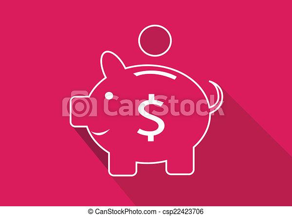 Piggy Bank - csp22423706