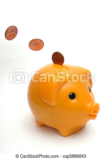El banco de los cerdos - csp5886843