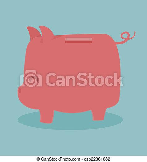 Piggy Bank - csp22361682