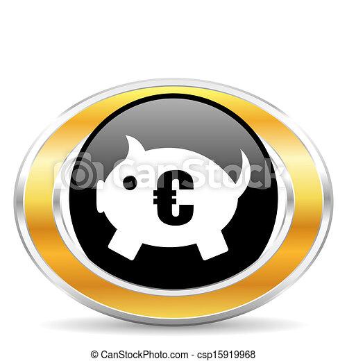 El banco de los cerdos - csp15919968