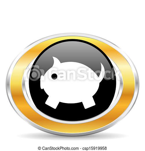 El banco de los cerdos - csp15919958
