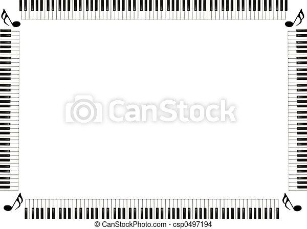 hudba, hraničit - csp0497194