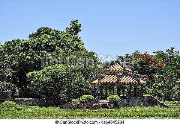 Hue Citadel Park - csp4645204