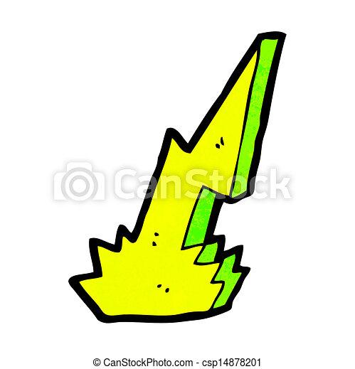 El símbolo del rayo - csp14878201