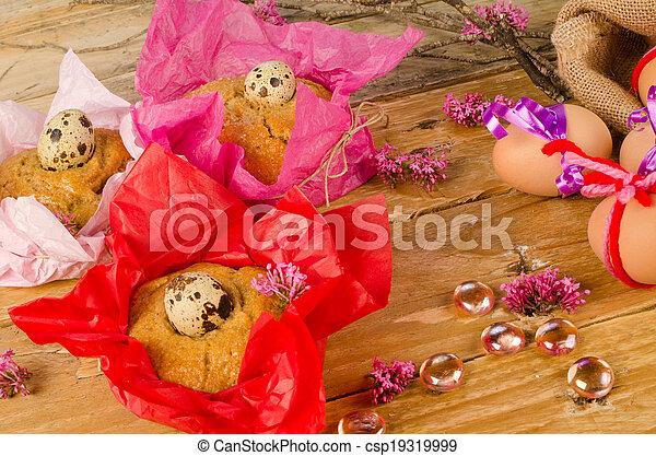 huevos, de, pascua, mona - csp19319999