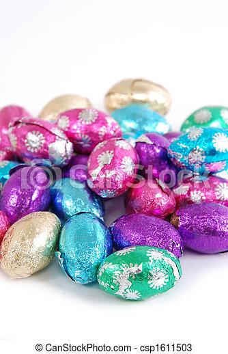Huevos de Pascua - csp1611503