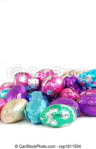 Huevos de Pascua - csp1611504