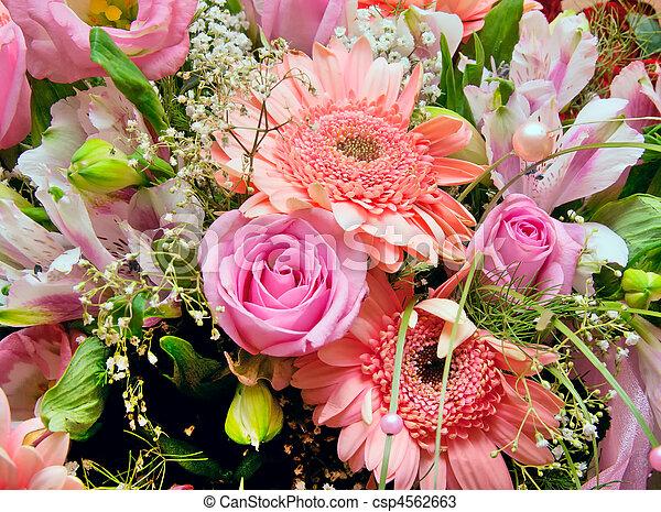 Huge bouquet of various pink flowers huge bouquet of various pink flowers csp4562663 mightylinksfo