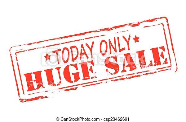 Huge sale - csp23462691