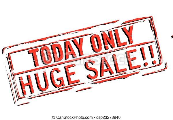 Huge sale - csp23273940