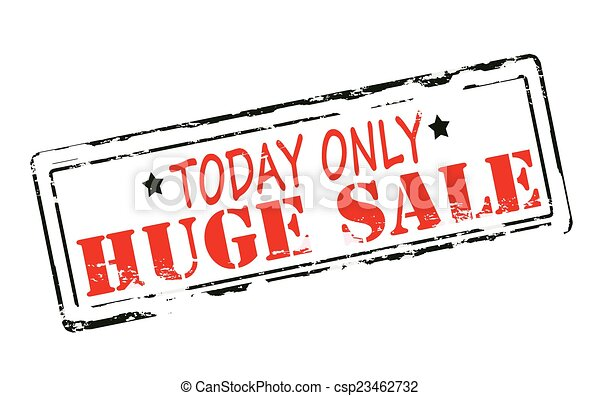 Huge sale - csp23462732