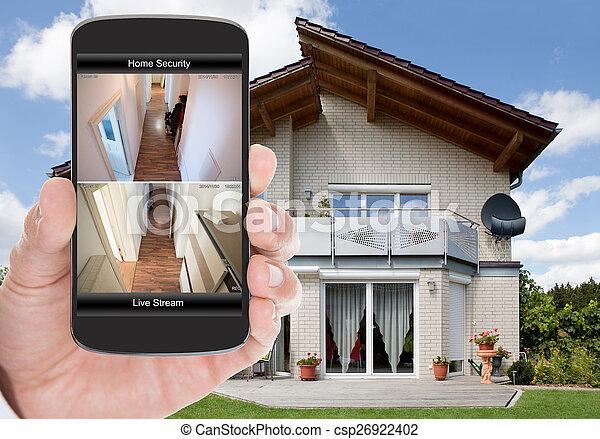 huis veiligheid - csp26922402