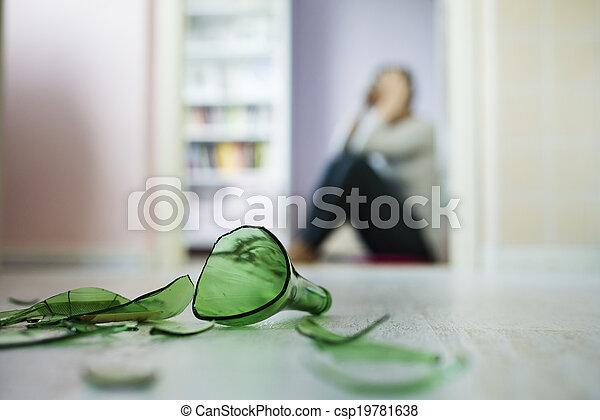huiselijk, violance - csp19781638