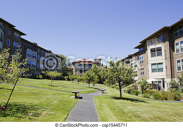 huisvesting, huur - csp15445711
