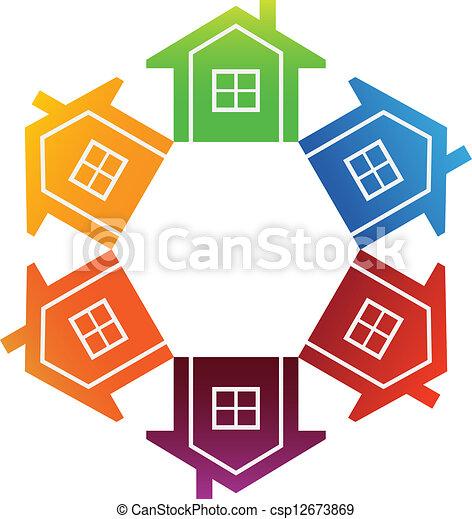 huisvesting, markt - csp12673869