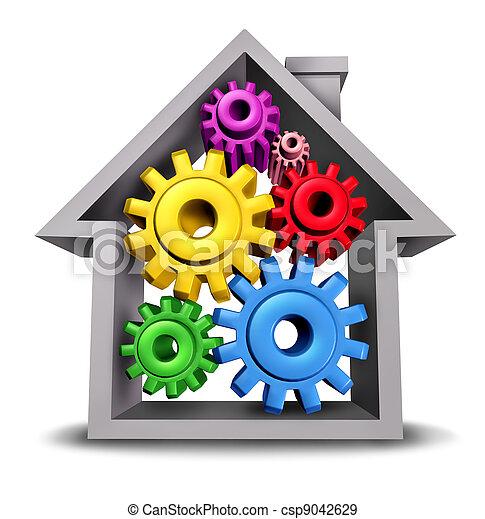 huisvesting, zakelijk - csp9042629