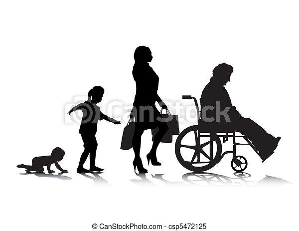Human Aging 6 - csp5472125