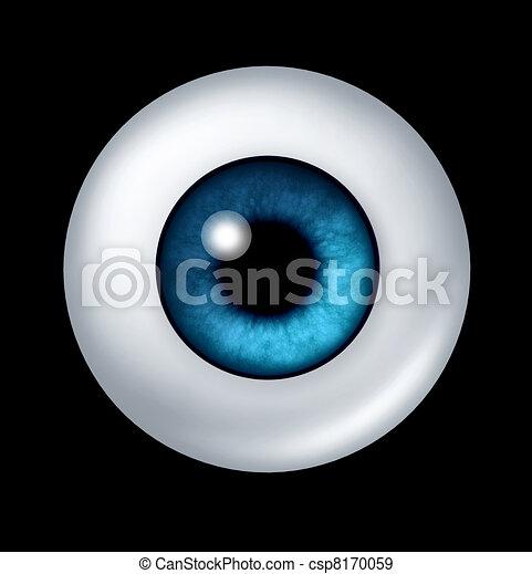 Human blue Eye ball - csp8170059