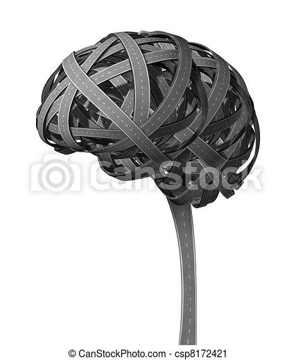 Human Brain Dementia - csp8172421