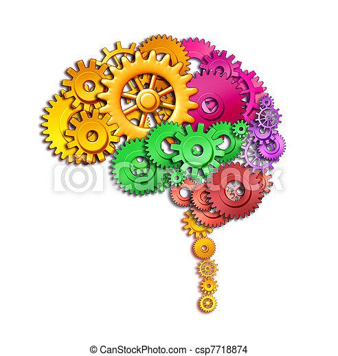 Human brain function - csp7718874