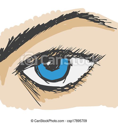 Human eye csp17895709