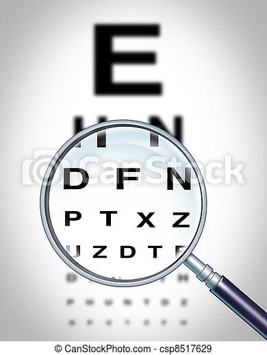 Human Eye Vision - csp8517629