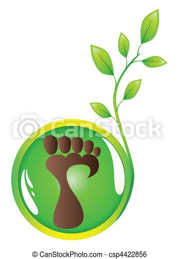 Human foot - csp4422856