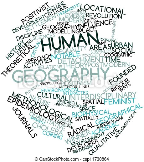 Human geography - csp11730864