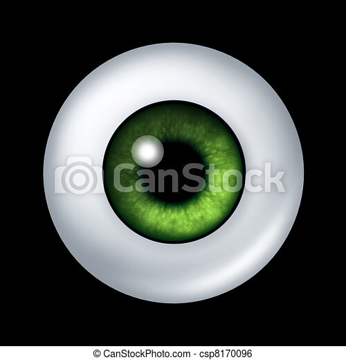 Human green eye ball organ - csp8170096